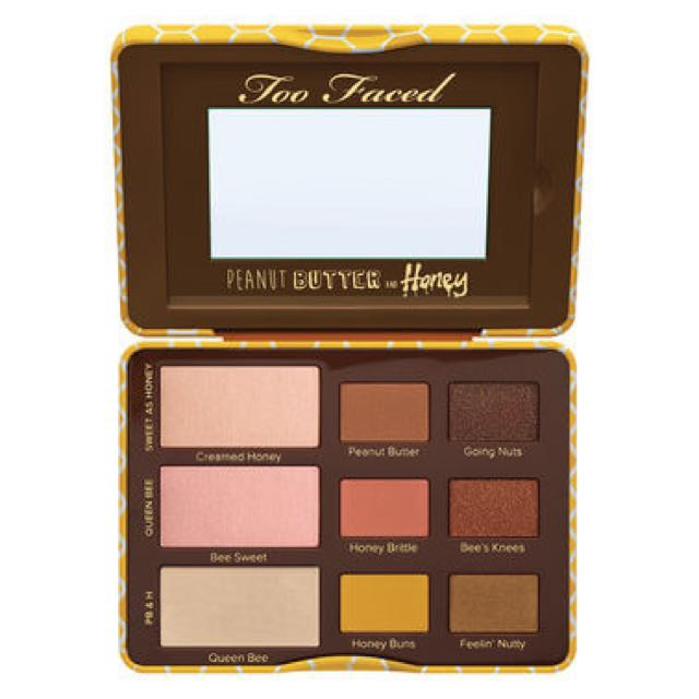 Too Faced Palette Peanut Butter And Honey