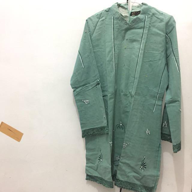 Tunik hijau tosca