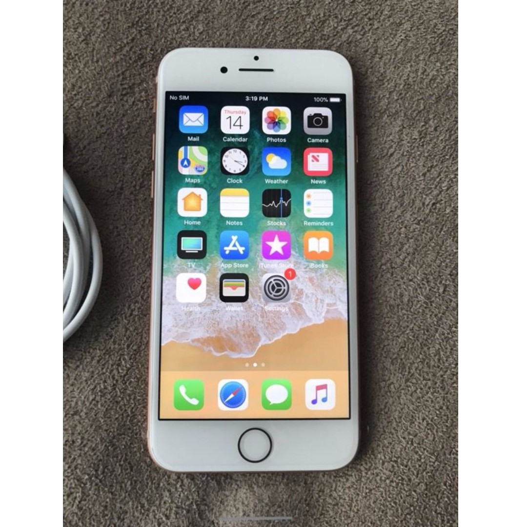 Unlocked iPhone 8 Rose Gold