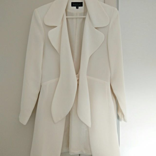 VINTAGE Cream Power Jacket