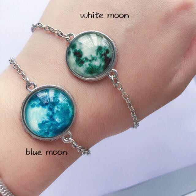 Wing Bling White Moon Bracelet Women S Fashion Accessories On Carou