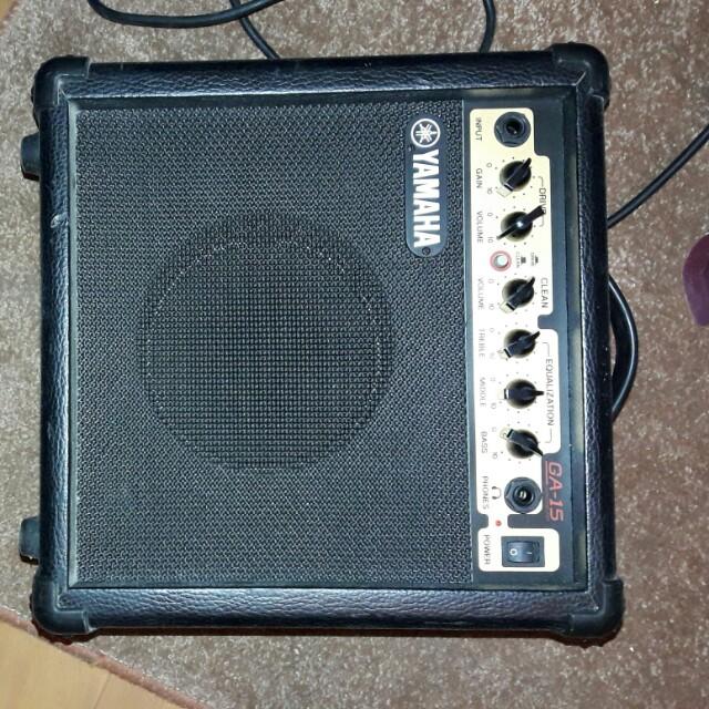 YAMAHA  GA-15 電吉他放大音箱