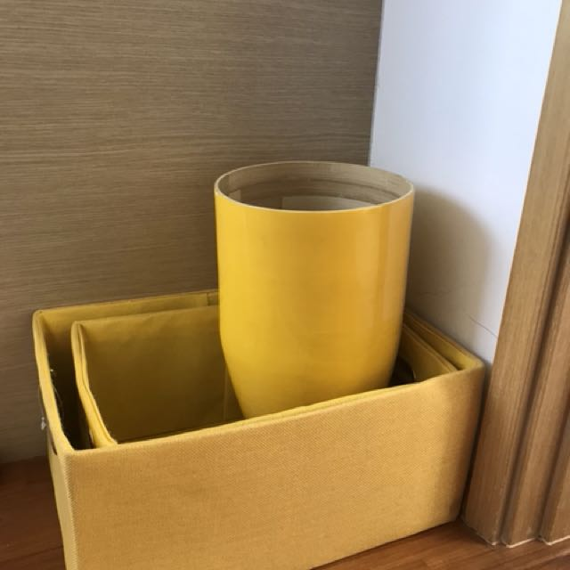 Yellow items