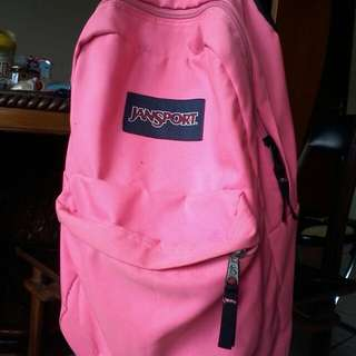 Tas Jansport Asli (Pink)