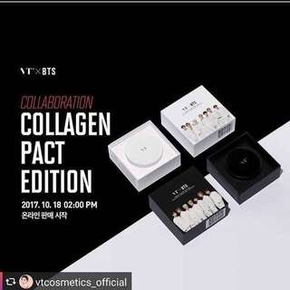 VT X BTS Collagen Pact