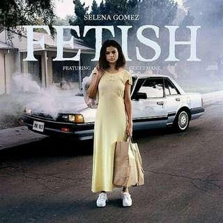 Selena Gomez Fetish Single cover Poster