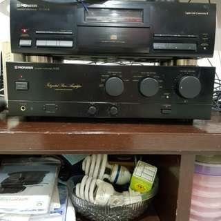 Pioneer Stereo Amplifier A337