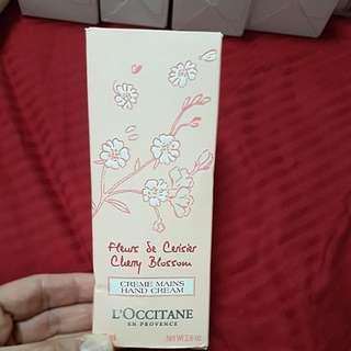 Loccitane Cherry Blossom hand cream 75ml