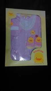 黃色小鴨套裝禮盒