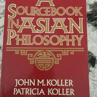 A sourcebook in asian philosophy