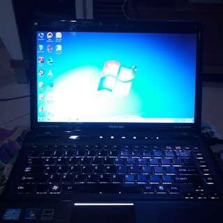 Laptop Super Gahar Toshiba Satellite p745 icore 7 ram 8gb MURAH