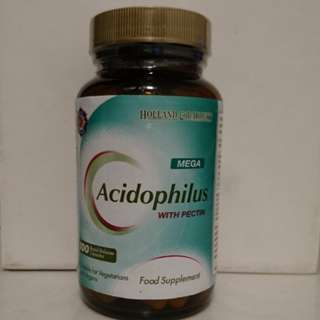 Holland & Barrett Acisophilus with Pectin (100 Rapid Release Capsules) 英國品牌強效益生菌膠囊 (100粒裝)