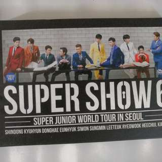 Super Junior <Super Show 6 in Seoul> DVD