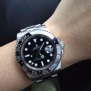 ROLEX GMT 2 Black (Original 100%)