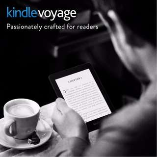 Sealed In Box Refurbished Kindle Voyage 4GB, with 1 year warranty