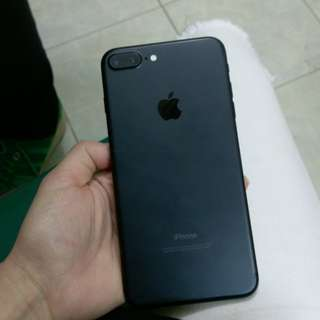 iPhone 7plus 128GB matte black original香港行貨 No issues,have fingerprint,100%work,original Hong Kong version,全正常,機身99%new