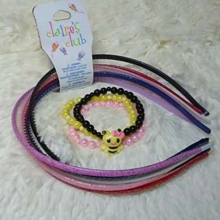 Claire's 6pcs. Headband for Girls