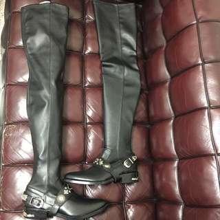 全新toga over knee boot new Sz 37 (原價$6200)