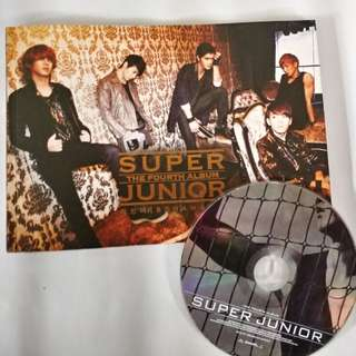 Super Junior 4th album version 2