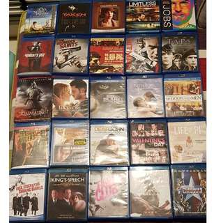 Plenty of Blu-Ray Discs from $10 onwards