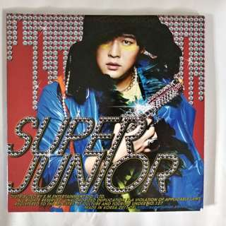 Super Junior 5th album <Mr·simpe>