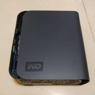 Western Digital hard disk case