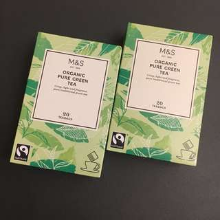 ❤️買一送一🎁馬莎有機綠茶包 M&S Organic Pure Green Tea