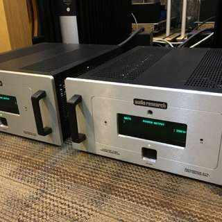 Audio Research Ref 210 tube mono amps