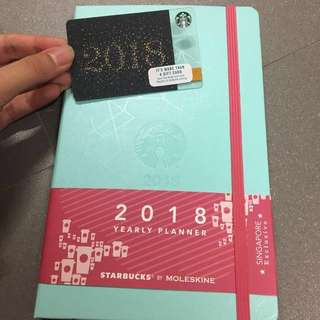 Starbucks Planner 2018 with Card