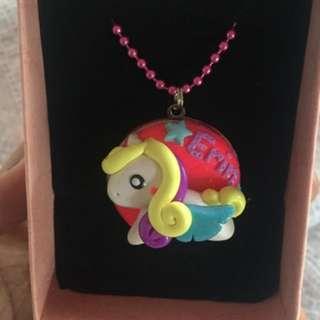 Customized Unicorn Locket Necklace
