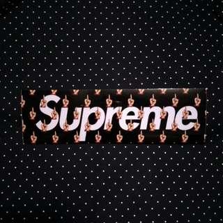 Supreme Undercover Sticker 19x5.5cm