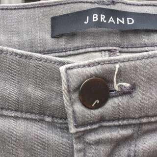 J BRAND Straight Leg Grey Jeans Size 25