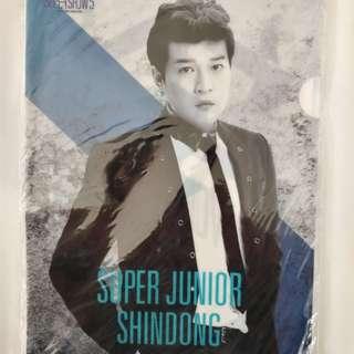 Super Junior 正版5巡周邊-> A4文件夾
