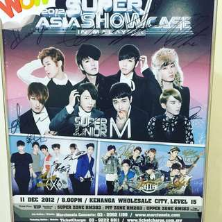 KPop Poster with original signature