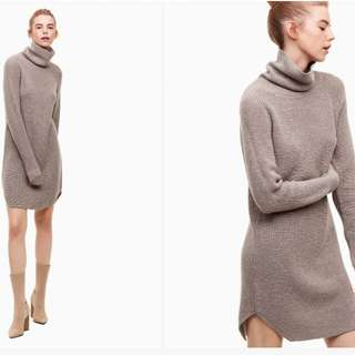 Aritzia Wilfred Free Bianca Dress