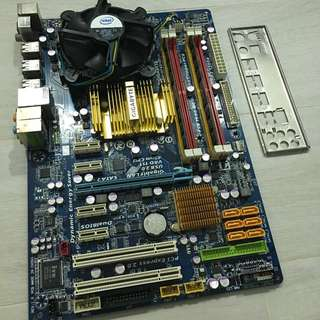 Ancient CPU + Mobo + Ram + Gfx + HDD