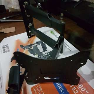 "32""-40"" tv single arm swevil bracket."