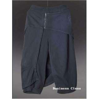 歐美 流行新款 不對稱 闊腿褲 寬松顯瘦 特殊造型 穿出獨特自我氣質的個性美