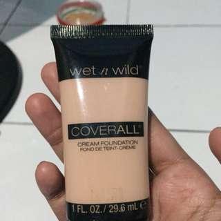 Wet n wild cream foundation