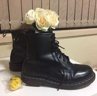DOC MARTENS ORIGINAL BOOTS BLACK SIZE EU39