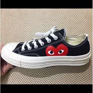 Converse play川久保玲聯名系列帆步鞋