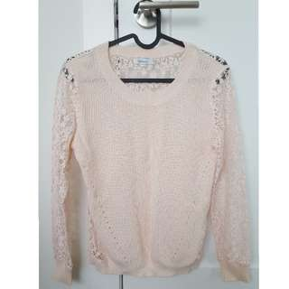 Reitmans lace sweater