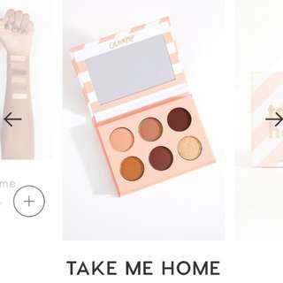 Take Me Home Colorpop eyeshadow Palette
