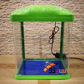 New aquarium fish tank (33alw) / akuarium baru