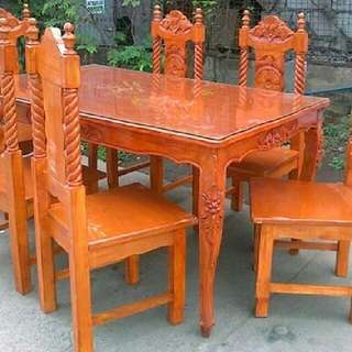 6 Seater Solid wood Dining Set