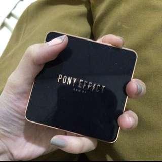 Pony effect 氣墊粉餅 熱銷款 用兩次