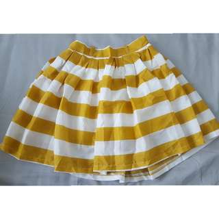 Circle skirt with lining