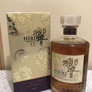 響 12年 花烏風月金裝限量版 HIBIKI AGED 12 The Beauty Of Japanese Nature LIMITED EDITION