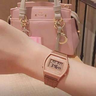 Jam Casio Rose Gold 💕