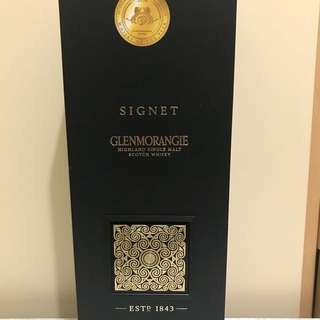 GLENMORANGIE 'Signet' Single Malt Scotch Whisky, Highlands, Scotland 蘇格蘭威士忌